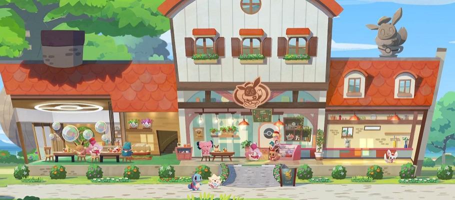 Анонсирован выход условно-бесплатной игры Pokemon Cafe Mix для Switch, iOS и Android