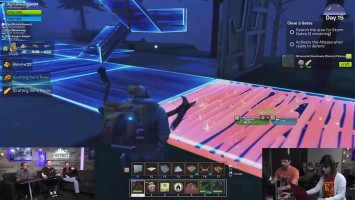 Fortnite –30 минут строительство базы