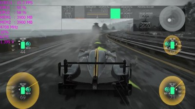 4K SLI 980 Ti in Project CARS сглаживание DS4x