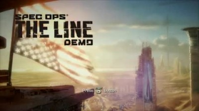 "Spec Ops: The Line ""Welcome to Dubai Gameplay"""