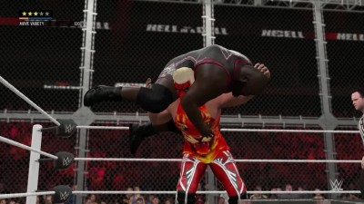2K16 MyCareer Hell in a Cell - Mark Henry VS Tiger Sam