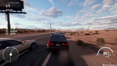 Need for Speed Payback - геймплей BMW M5 2018 с Gamescom