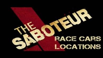 """The Saboteur """"Местоположение автомобилей"""""""