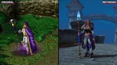 Warcraft 3 - Сравнение Original vs. Reforged (Candyland)