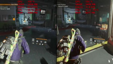 "Tom Clancy's The Division ""Геймплей на RX 480 
