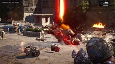 Gears of War 4 - Xbox One X Enhanced - Первый взгляд!