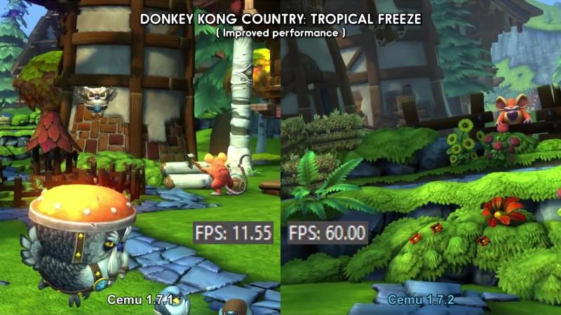 Cemu 1.7.2 (Wii U эмулятор)