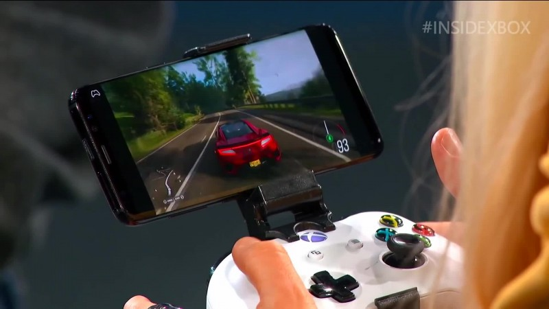 Демонстрация Project xCloud на Inside Xbox