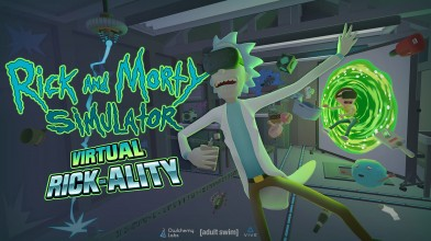 Rick and Morty: Virtual Rick-ality вышла на PlayStation VR