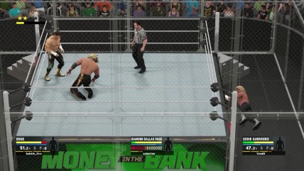 "WWE 2K17 ""Online Hell in a Cell - Eddie Guerrero VS Edge VS DDP"""