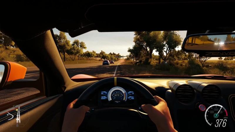 Forza Horizon 3 - Zenvo ST1 2016 на руле Logitech G27