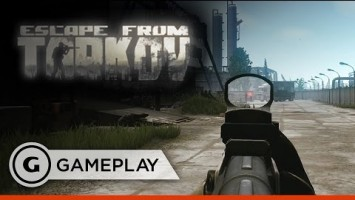 Геймплей Escape from Tarkov от GameSpot