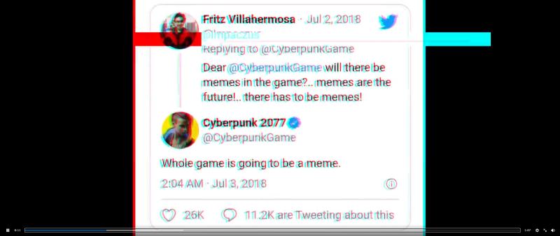 CDPR в 2018-м году: Вся игра станет мемом.