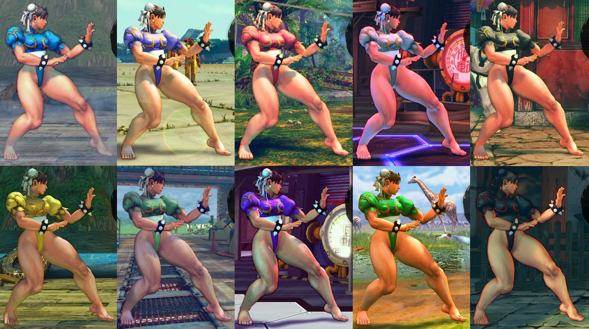 Street fighters nude hentai pic