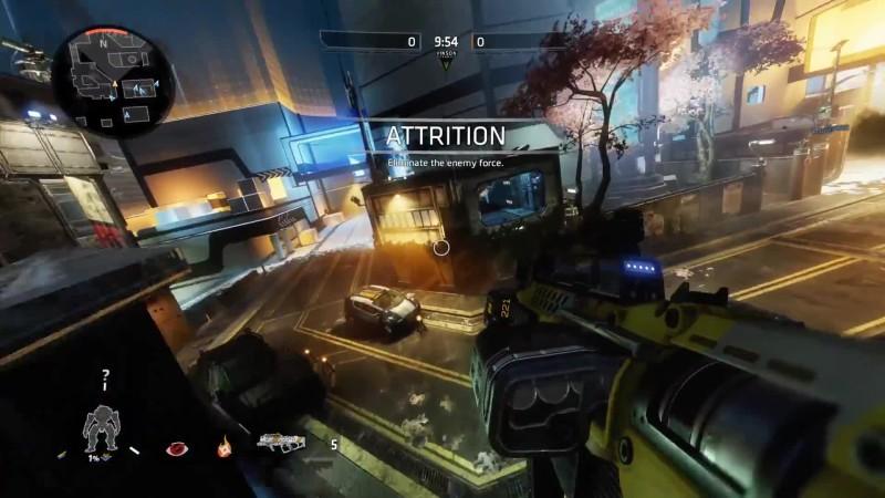 Немного геймплея нового DLC для Titanfall 2