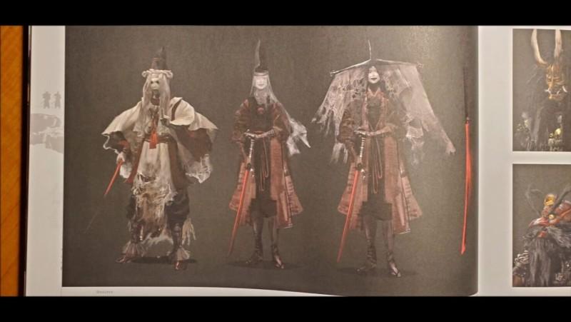 Первый взгляд на многопользовательский режим Ghost of Tsushima Legends благодаря официальному артбуку