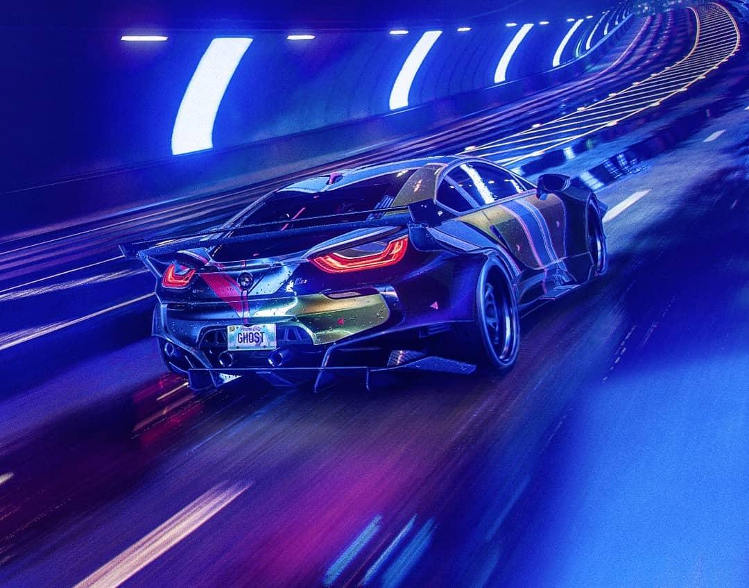 Скриншот бонусного автомобиля BMW i8 Coupe за предзаказ ...
