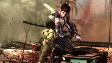 Metal Gear Rising Revengeance VGA 2012 Trailer vs Retail PS3 Сравнение графики