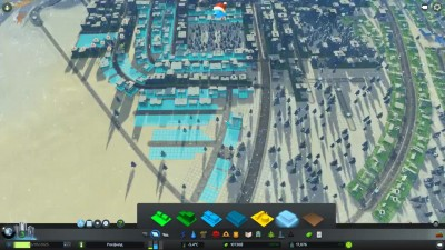 Тепло в метро - ч6 Cities: Skylines [dlc SnowFall]