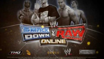 WWE SmackDown vs. RAW Online PC. (WWE Online)