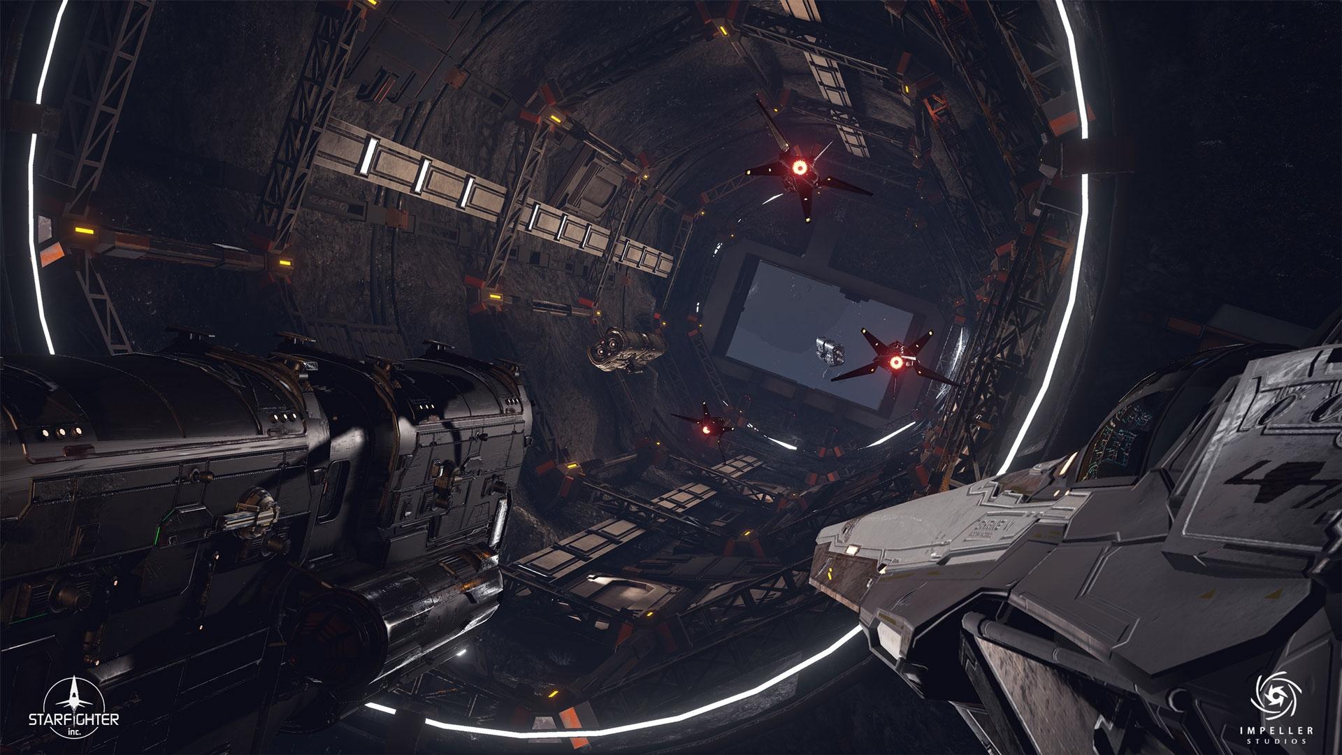 Космический симулятор In The Black получит поддержку трассировки лучей