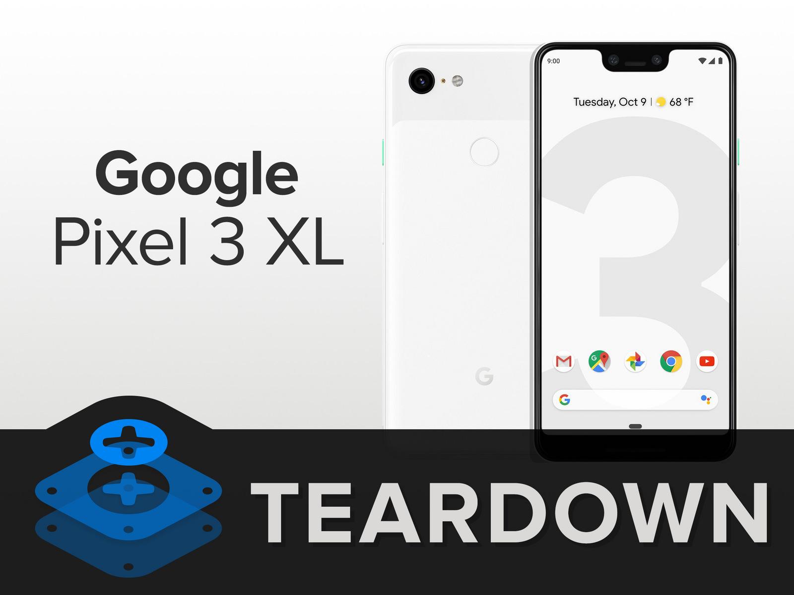 Специалисты разобрали Google Pixel 3 XLиобнаружили интересные детали смартфона