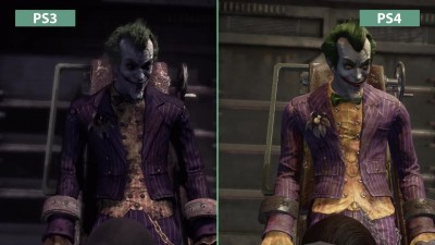 Сравнение графики Batman Return to Arkham - PS3 vs. PS4 Arkham Asylum (Candyland)