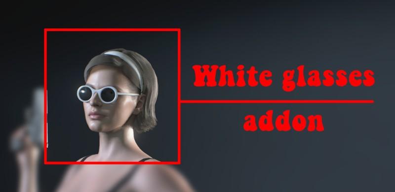 Белая версия очков