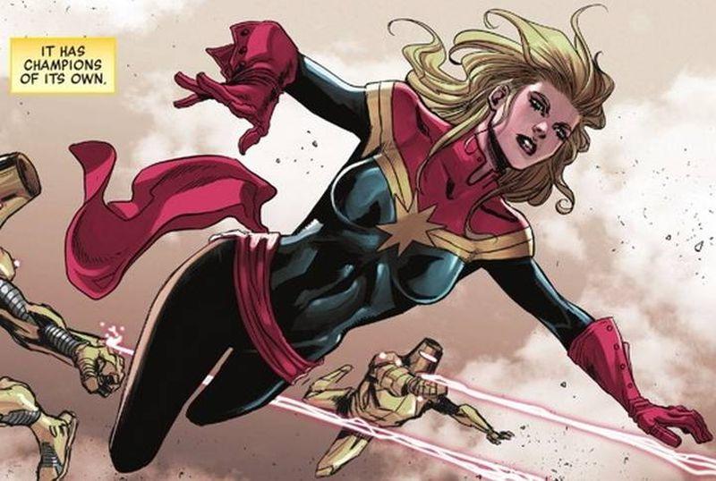 Кэрол Денверс в комиксах Marvel