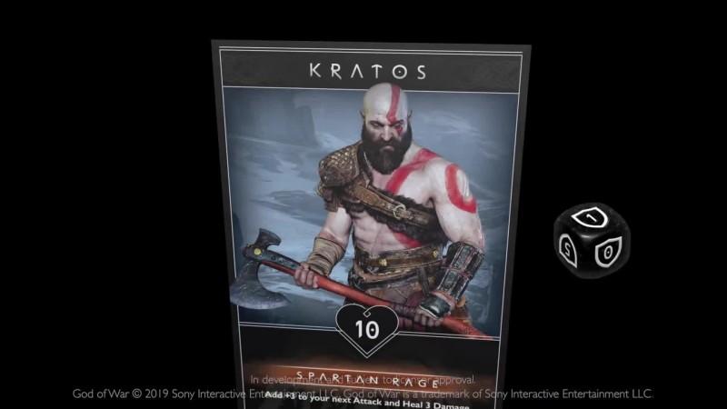 Анонс карточной игры по вселенной God of War