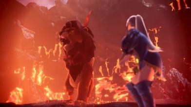Симба из Короля Льва в Monster Hunter: World