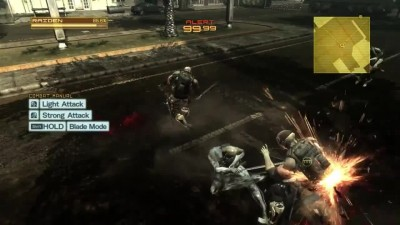 "Metal Gear Rising: Revengeance ""PC геймплей."