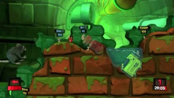 "Worms Revolution ""Warring Worms trailer"""
