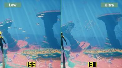 Abz&#251- Сравнение графики PC Low vs. Ultra (Candyland)