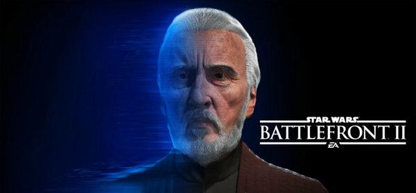 Жажда власти графа Дуку вскоре захлестнет Star Wars Battlefront II
