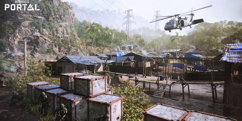 Новый режим Battlefield 2042 под названием Portal получит карты из предыдущих игр серии