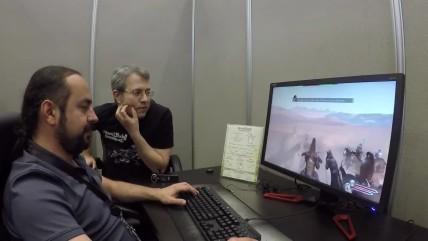 Mount & Blade 0 II: Bannerlord. Играем в игру вместе с Армаганом Явузом на Е3 0017