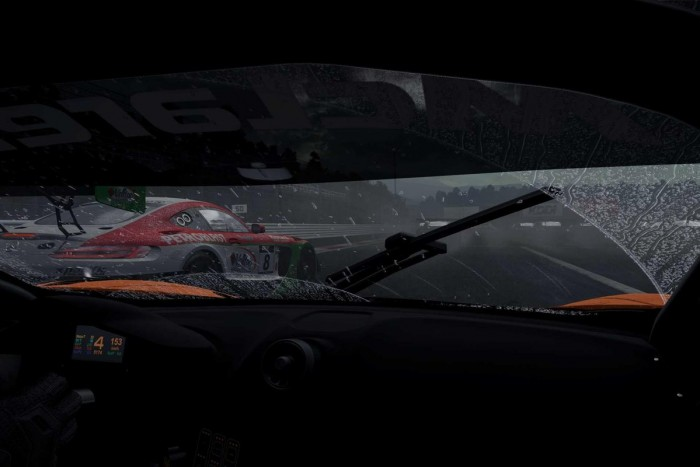 Project CARS 2 will feature dynamic weather, such as this torrential rain