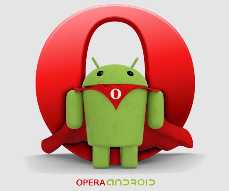 Картинки по запросу opera для android