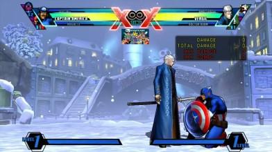 Все комбо Капитана Америки в Ultimate Marvel vs Capcom 3