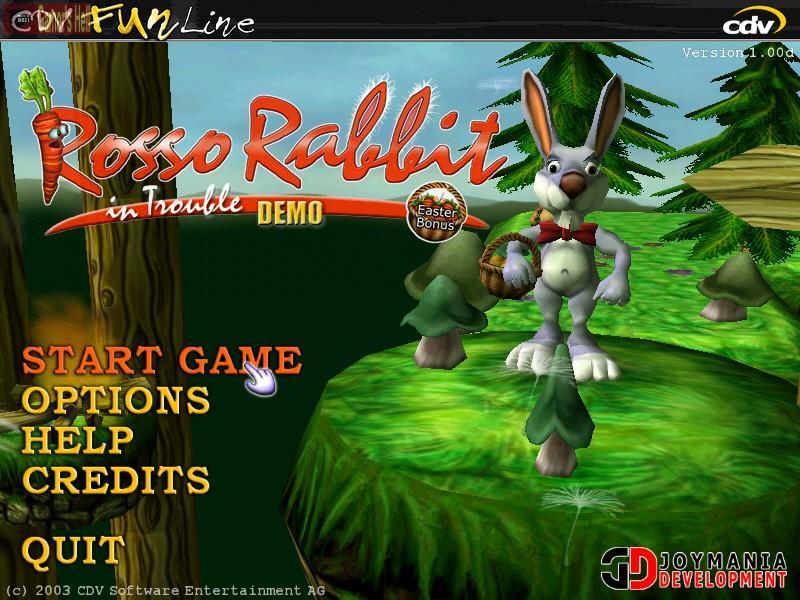 Rosso rabbit in trouble игра скачать