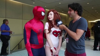 Косплей: Mary Jane Watson & Spider-man
