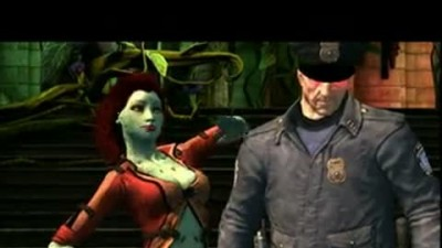 "Batman: Arkham City Lockdown ""Poison Ivy Trailer"""