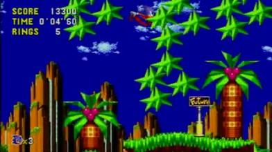 "Sonic CD (Xbox 360) ""Act 1 геймплей"""