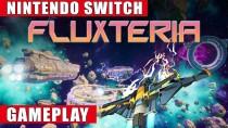 20 минут Switch-версии аркадного шутера Fluxteria