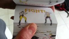 """Mortal Combat """"Бой нарисованных бойцов"""""""