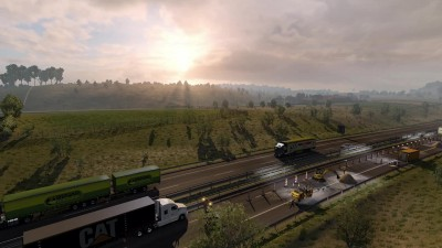 "Euro Truck Simulator 2 ""Next-Gen Graphic Mod"""