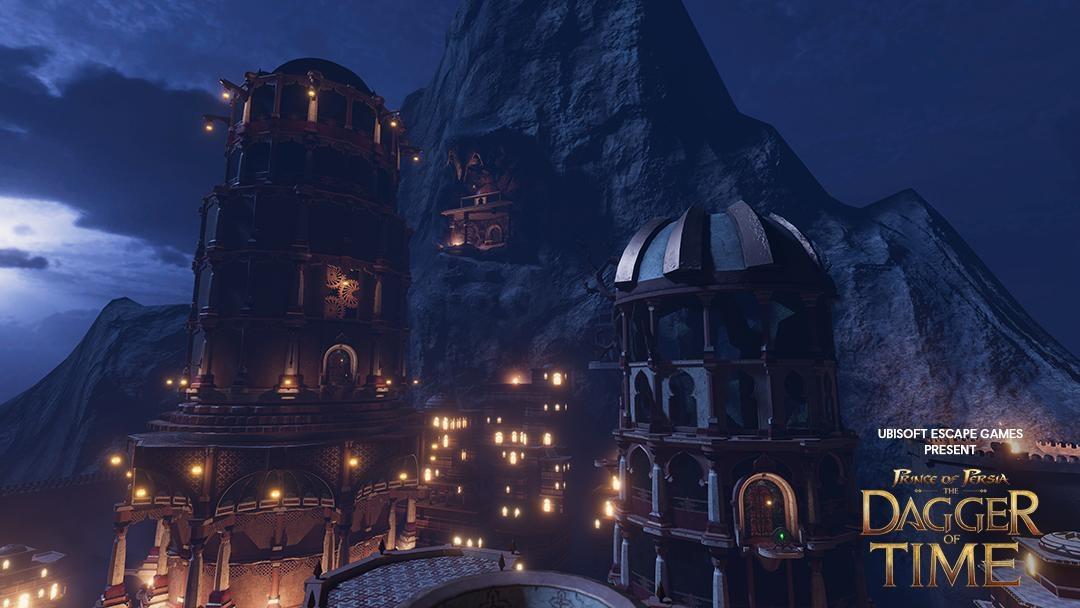Скриншоты аркадной VR-игры Prince of Persia: The Dagger Of Time