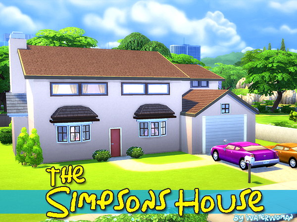 Дом Симпсонов