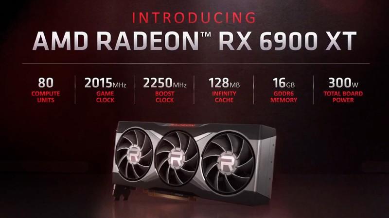В Geekbench флагманская Radeon RX 6900 XT на 12% быстрее Radeon RX 6800 XT